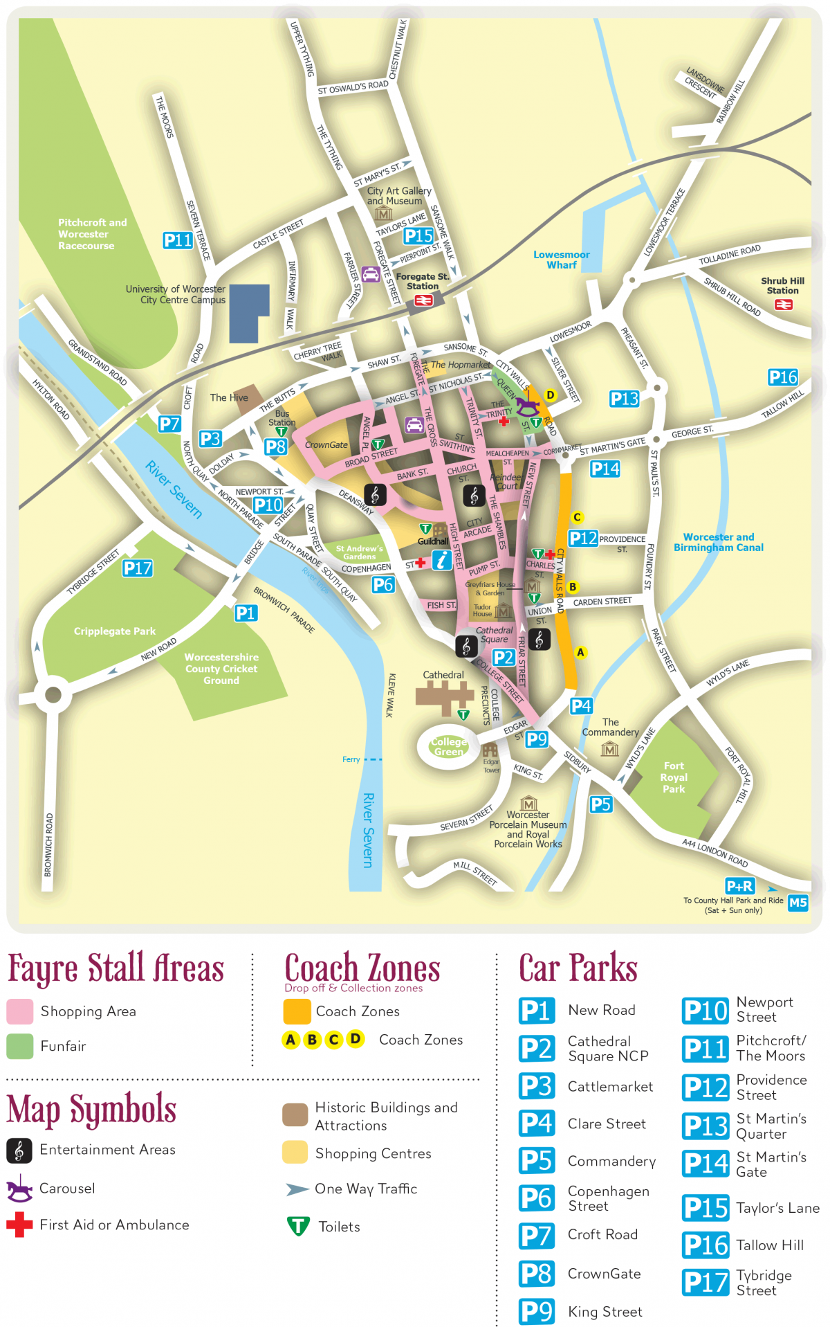 City Centre Map